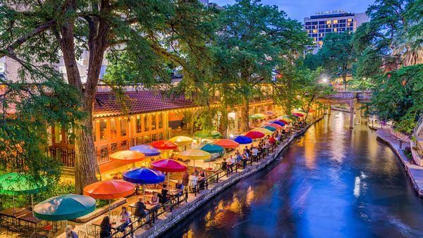 San Antonio, Texas, on the Alamo