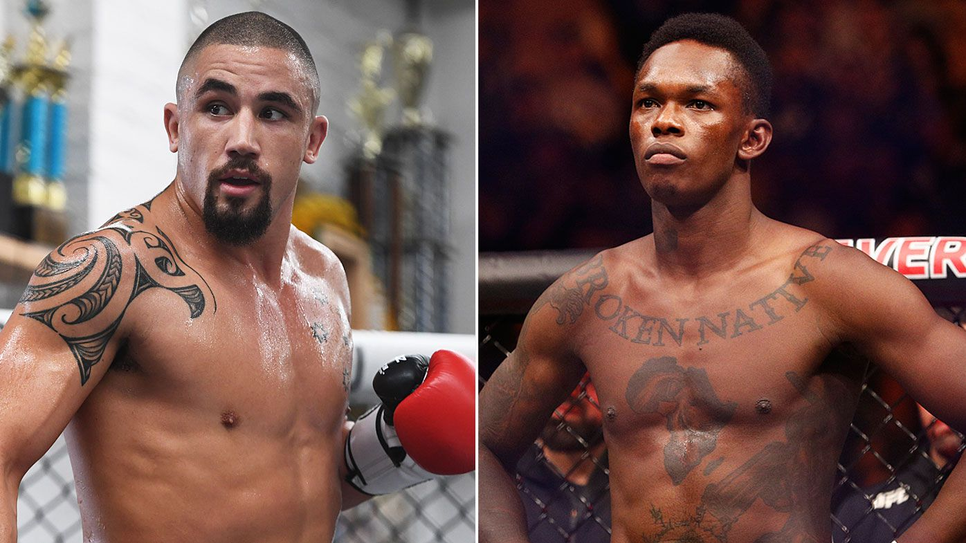 Robert Whittaker to face Kiwi Israel Adesanya in UFC middleweight title fight