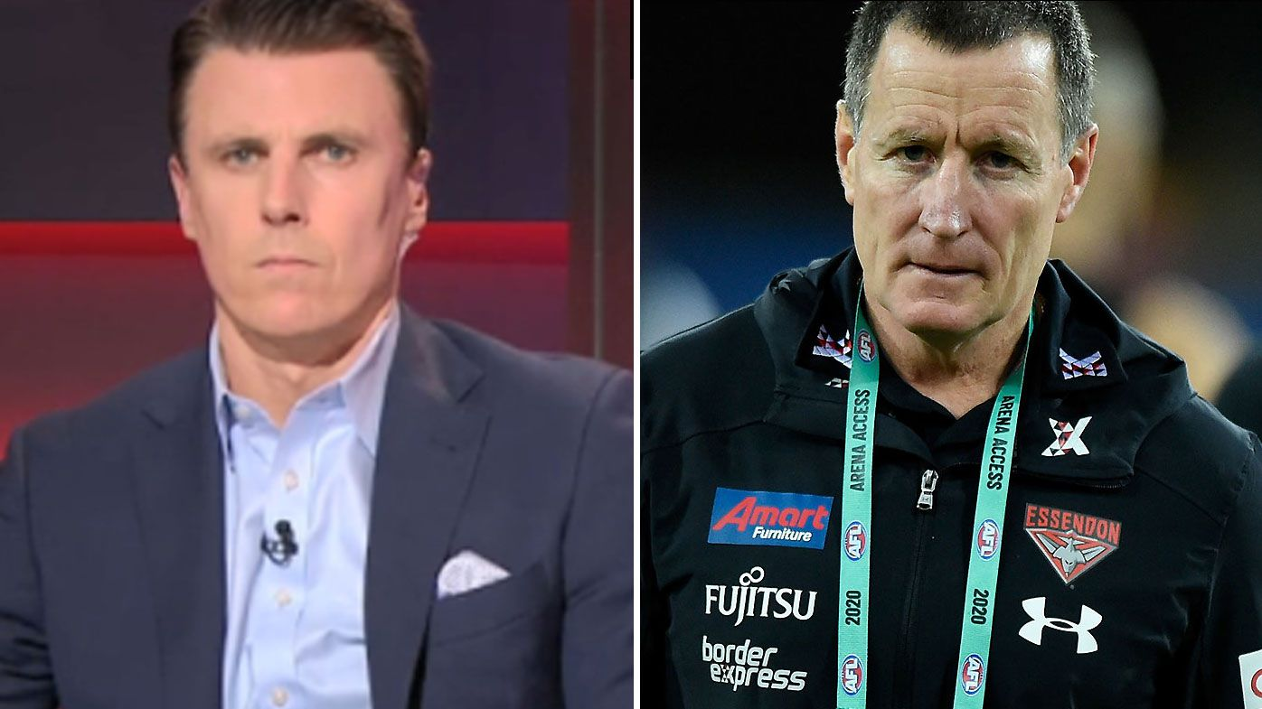 Essendon great Matthew Lloyd accuses John Worsfold of changing narratives as public war of words continues