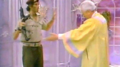 1987 Matthew Perry sitcom predicted Gaddafi's death in 2011