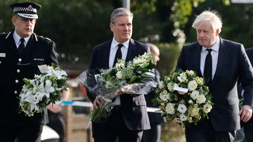 Leaders come together to pay tribute to slain British MP