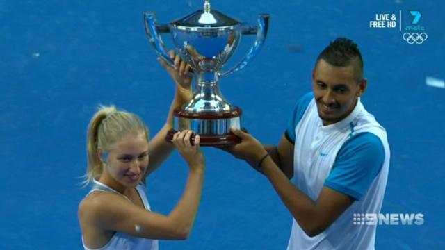 Gavrilova wants titles and Federer selfie