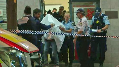 Police arrested one man inside the premises at Kogarah.