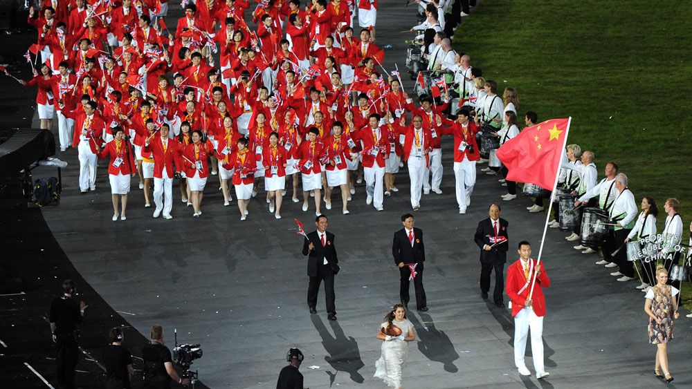 China's team has grown by 20 from the London games. (Getty)