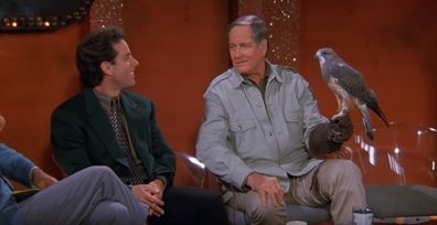 Jerry Seinfeld and Jim Fowler