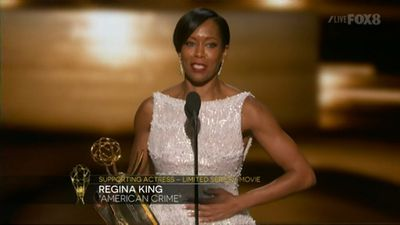 <p><strong>Supporting Actress, Limited Series Or Movie</strong></p><p>Regina King, <em>American Crime</em></p>