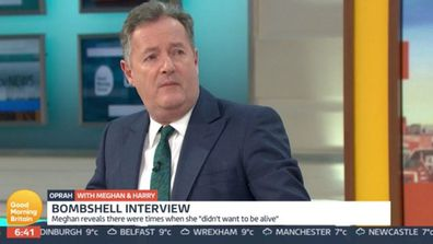 Piers Morgan reacts to Prince Harry and Meghan Markle's Oprah interview on Good Morning Britain