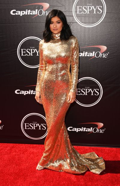 Kylie Jenner wearingShady Zeineldine at the 2015 ESPY Awards in Los Angeles, July, 2015