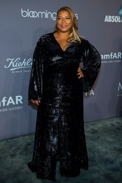 Queen Latifah at the 20th Annual amfAR Gala