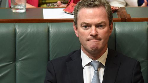 Education Minister Christopher Pyne. (AAP)