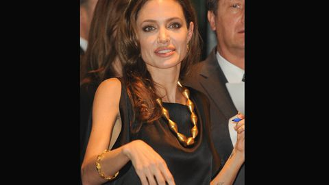 Report: Angelina Jolie is starving herself because the world is starving