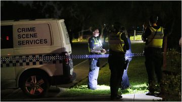 The body was found outside an aged care facility car park.