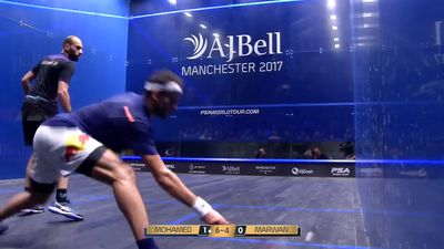 Egypt's Mohamed Elshorbagy beats younger brother Marwan to win men's world squash title