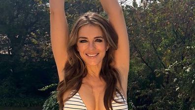Elizabeth Hurley, bikini, body, Instagram, photo