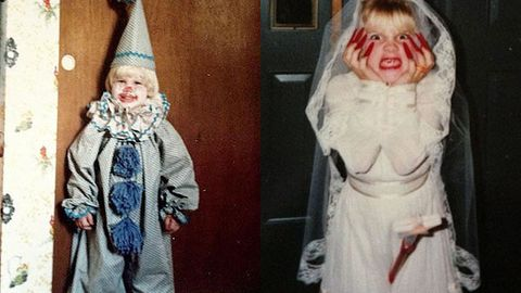 Cute-fest: Pink shares Halloween photos from her childhood