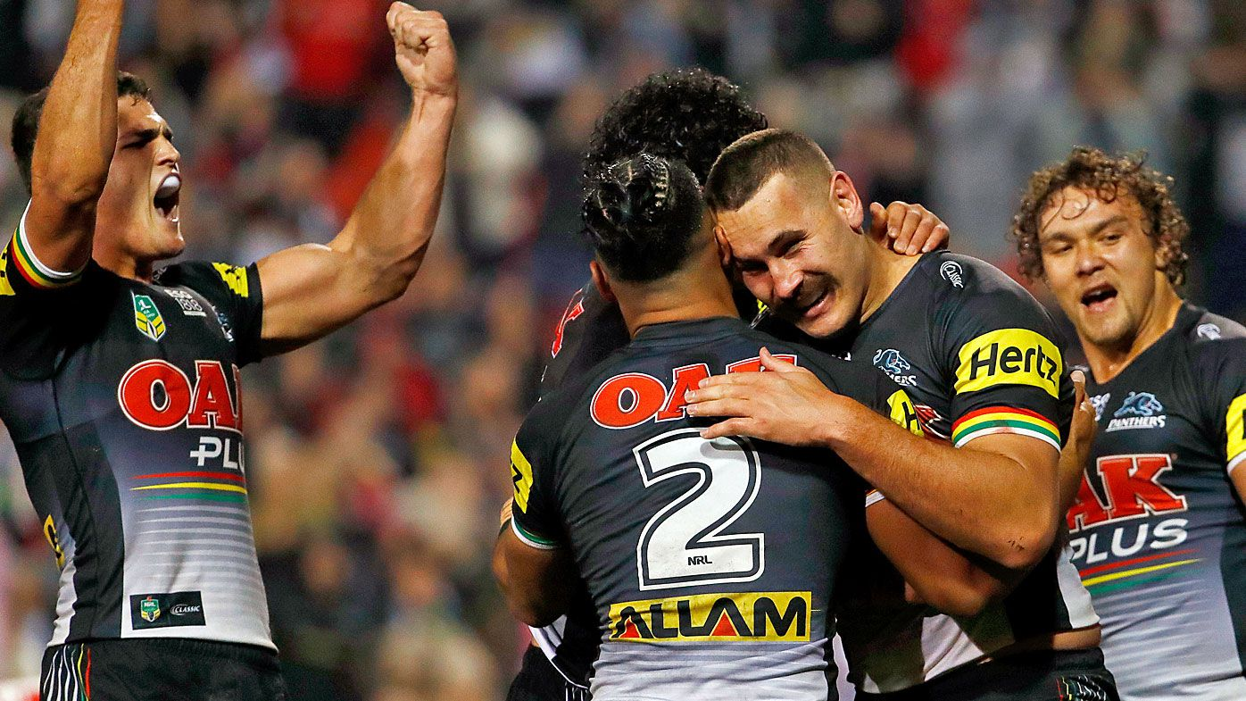 Nathan Cleary and James Maloney lead Penrith Panthers to victory over St George Illawarra Dragons