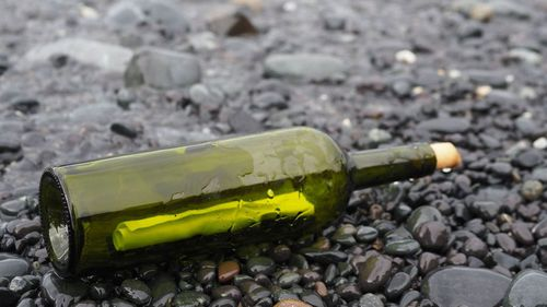 A Polish traveller flung the bottle into the ocean more than four years ago.