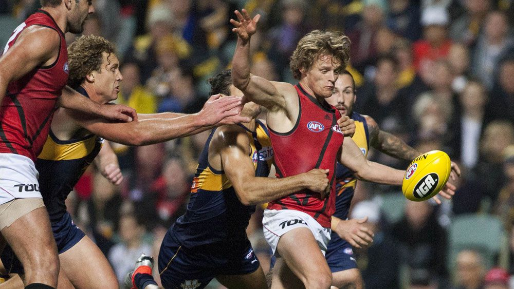 Eagles thump Bombers in AFL flag reunion