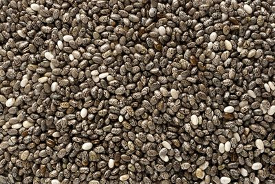 Chia seeds (17g protein/100g)