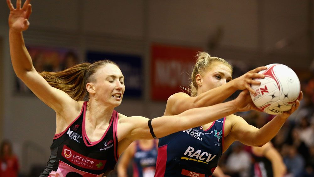 Vixens crush Thunderbirds in Super Netball