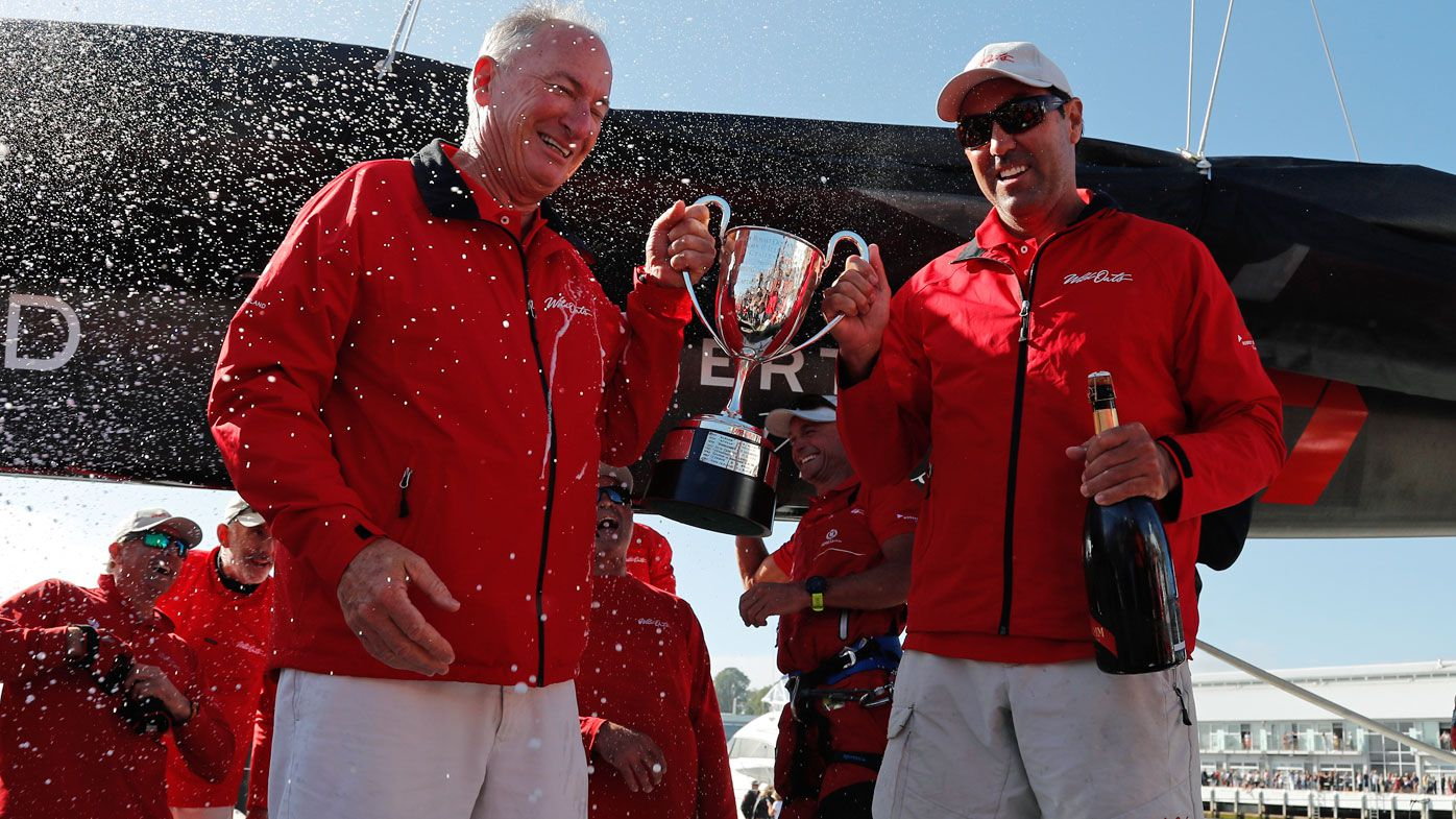 Wild Oats XI skipper Mark Richards