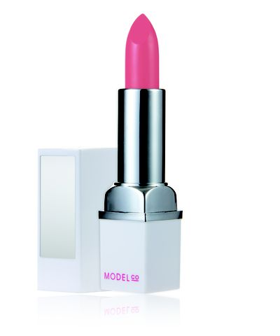 """<a href=""""http://www.modelcocosmetics.com/shop/party-proof-lipstick"""" target=""""_blank"""">ModelCo Party Proof Lipstick, $18.</a>"""