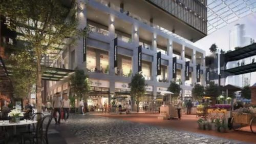 The makeover will cost $450 million. (9NEWS)