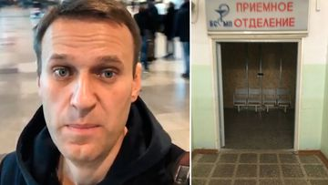 Hospital where Russian opposition figure Alexei Navalny is being treated