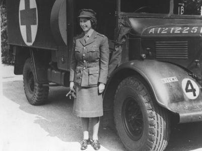 Princess Elizabeth, June 1945