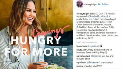 Chrissy Teigen second cookbook is being released