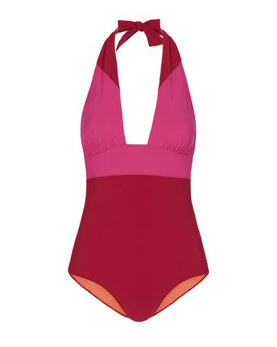 "<a href=""http://heidiklumintimates.com.au/swim"" target=""_blank"">Heidi Klum Swim Savannah Sunset Folded Midrise, $189.</a>"