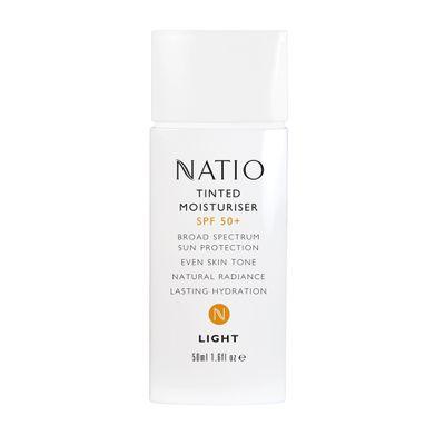 Natio Tinted Moisturiser SPF 50+, $18.95.