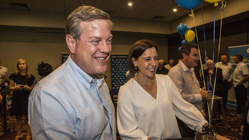 Tim Nicholls is expected to spend the next two days in key North Queensland seats. (AAP)