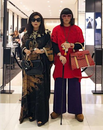 """""""SPENDING TIME WITH YOUR MOM IS THE BEST WAY TO MAKE SIMPLE AND HAPPY MEMORIES,"""" In Hermès, Gucci and Prada."""