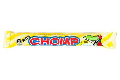 Chomp: Almost 4 teaspoons of sugar