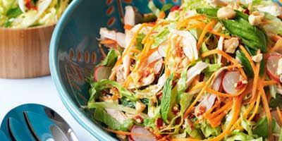 "Recipe:&nbsp;<a href=""http://kitchen.nine.com.au/2016/05/17/13/01/vietnamese-chicken-salad"" target=""_top"">Vietnamese chicken salad<br /> </a>"