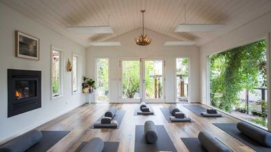 Yoga and wine retreat studio, Melbourne