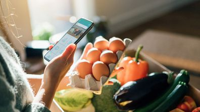 Many families are using online shopping to meet their grocery needs during lockdown due to the pandemic.