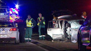 Woman killed in horrific crash