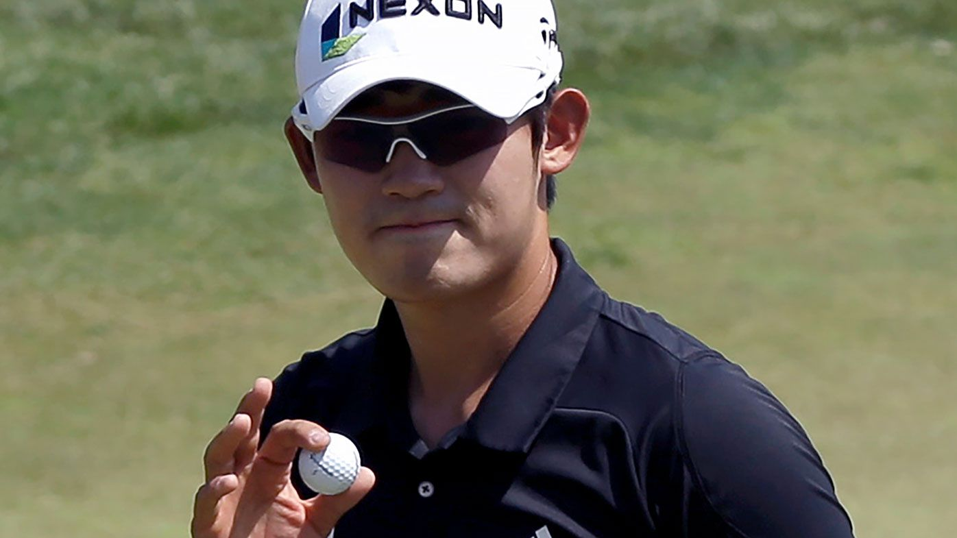 Korean golfer Bio Kim has been suspended for three years.