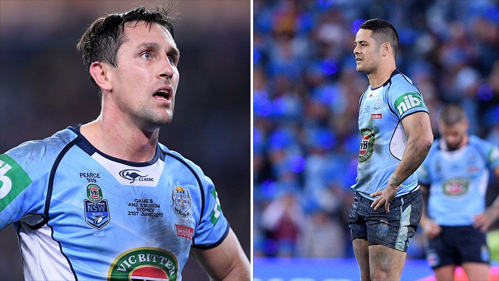 State of Origin: Tommy Raudonikis calls for axing of Jarryd Hayne and Mitchell Pearce from Blues side