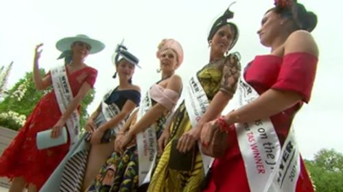 This morning the grounds of Flemington were abuzz with excitement and preparations. (9NEWS)
