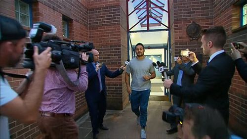 Hayne did not make a comment on the alleged offences.