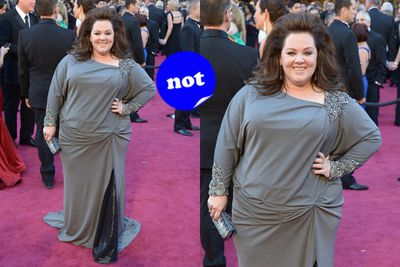 Hey it's that chick from <i>Hairspray</i>! No it isn't, it's <i>Bridesmaids</i> star Melissa.