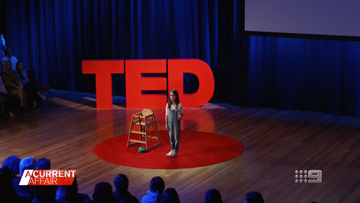 Speech by one of youngest TED Talk speakers seen over a million times