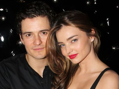 Orlando Bloom, Miranda Kerr, after party, Broadway opening night of Shakespeare's Romeo And Juliet,  The Edison Ballroom, September 19, 2013 in New York City