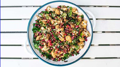 The Chippo Hotel's cauliflower and pomegranate salad