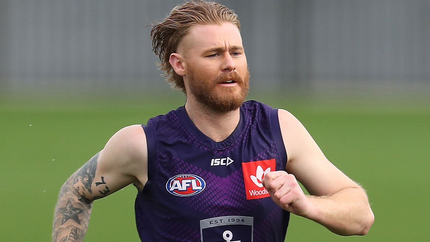 Fremantle star Cam McCarthy diagnosed with epilepsy after collapsing at training