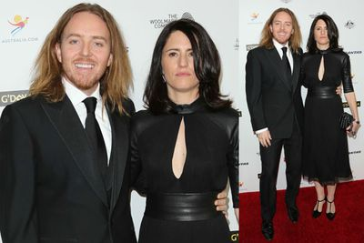 <i>Californication</i> actor Tim Minchin with wife Sarah