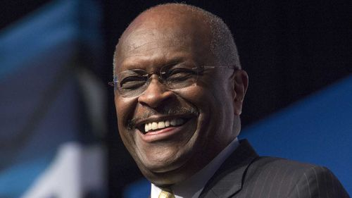 Herman Cain was leading the Republican polls in the 2012 primary for a brief period of time.